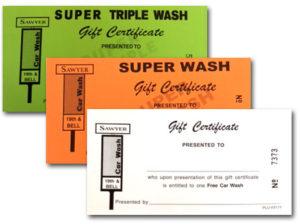 Sawyer Car Wash gift cards