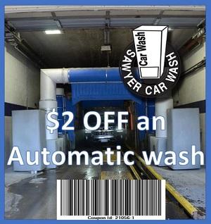 Sawyer Car Wash Coupon 21056-1