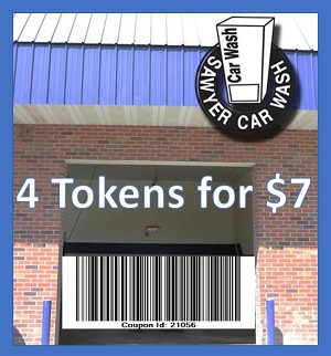 Sawyer Car Wash Coupon 21056