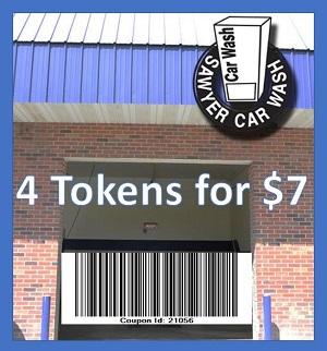 Sawyer Car Wash Coupon 21056